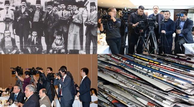 Çalışan Gazeteciler Gününü Kutladılar