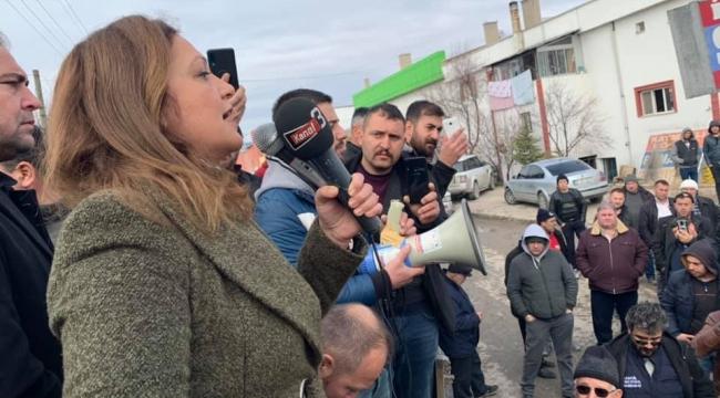 CHP Milletvekili Köksal : Kamyoncunun cebinden elinizi çekin