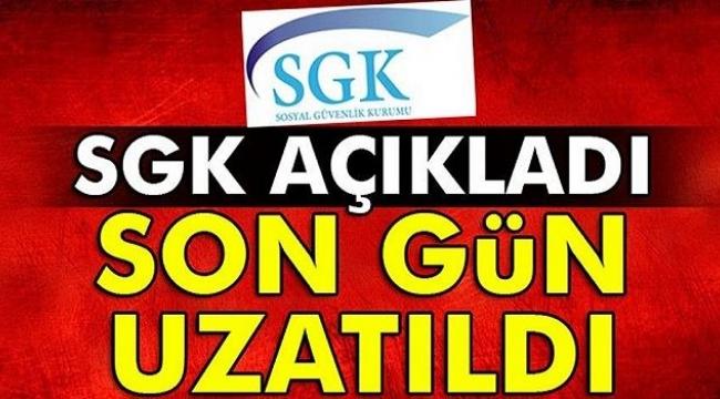 Elazığ ve Malatya'da SGK prim ödeme süresini 30 Nisan 2020 tarihine kadar uzatıldı