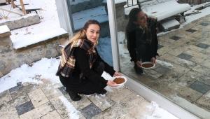 Emirdağ Belediyesi sokak hayvanlarını unutmadı