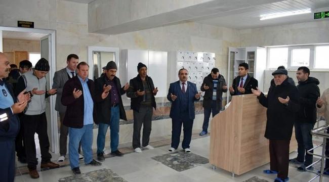İscehisar Belediyesi kaplıca tesisleri hizmete açıldı
