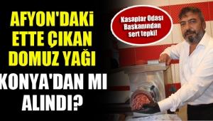 Konya Kasaplar Odası Başkanı Balbaloğlu : Yörük Özür dilemezse dava açacağız