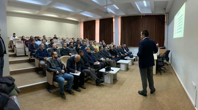 Öğretim Üyelerine Yönelik Üniversite Sanayi İş Birliği Semineri Düzenlendi