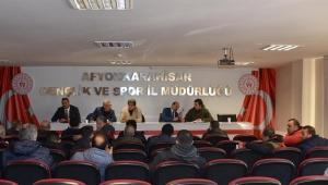 Türkiye güreş şampiyonası ve grup müsabakaları Afyonkarahisar'da başlıyor