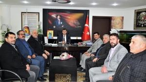 YRP Çay ilçe yönetiminden Belediye Başkanı Atlı'ya Ziyaret Ettik