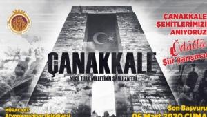 Afyonkarahisar Çanakkale Şehitlerini Anıyor