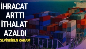 Afyonkarahisar'da ihracat %3,7 arttı, ithalat %6,1 azaldı.
