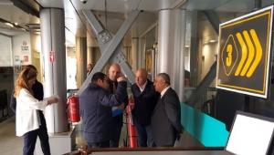 Başkan Zeybek Tam Otomasyonlu Otoparkı İnceledi
