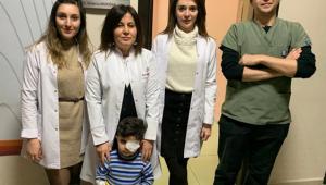 Görme Kaybı Olan Çocuk Hastamız AFSÜ Göz Kliniğinde Sağlığına Kavuştu