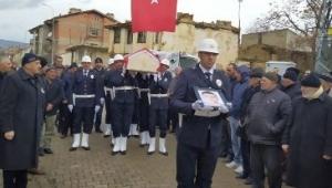Hastalığa yenik düşen polis,Afyonkarahisar'da toprağa verildi