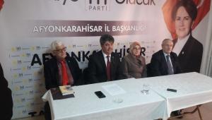 İyi parti İl Başkanı İnkaya : Bu kötü işleri öcüler yaptı, dış güçler yaptı diyemezler.