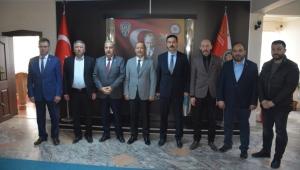 Milletvekili Taytak'tan Temiz ve Dereci'ye hayırlı olsun ziyareti