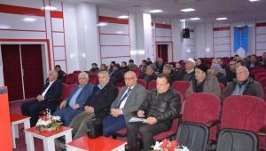Sayısal takograf bilgilendirme toplantısı İscehisar Esnaf Odası'nda yapıldı.