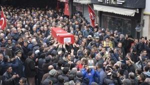 Şehit Uzman Çavuş Gökhan Orhan, son yolculuğuna gözyaşlarıyla uğurlandı