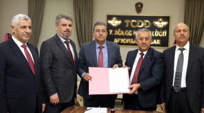 AFRAY Banliyö Hattı Proje Sözleşmesi İmzalandı