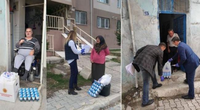 Afyonkarahisar Belediyesi 65 Yaş Üstü Vatandaşlarımızın Yardımına Koşuyor