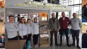 Afyonkarahisar Belediyesi'nin şehir Postası Gazetesi Özel Standlarda