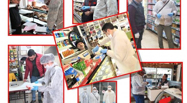 Afyonkarahisar'da Korona Virüse Karşı Gıda Denetimleri Devam Ediyor