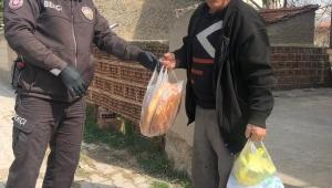 Afyonkarahisar'da Yaşlı Vatandaşların İhtiyaçları Gideriliyor.