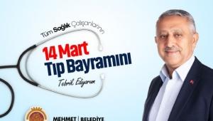 Başkan Zeybek'ten 14 Mart Tıp Bayramı Mesajı