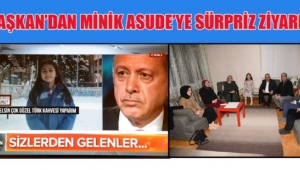Başkan Zeybek'ten Minik Asude'ye Sürpriz Ziyaret