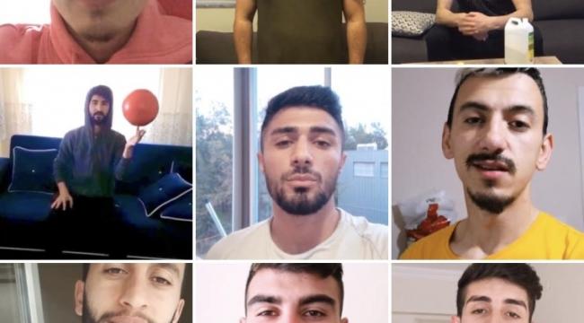 Bolvadin Belediyesporlu futbolculardan Evde Kal mesajı