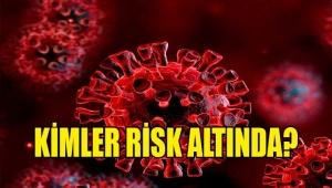 Covid-19 Enfeksiyonunda Kimler Daha Fazla Risk Altında?