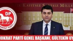 DP Lideri Gültekin Uysal : AKP Hükümetine çağrımız: Engelleme! İşbirliği yap!