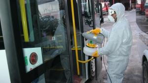 Emirdağ Belediyesi ekipleri dezenfekte çalışmalarına devam ediyor