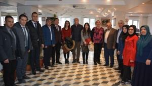 İscehisar Esnaf Odası Başkanlığına Vergi Haftası Ziyareti