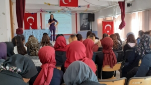 Kadın sağlığı eğitimi projesi kapsamında çalışmalar devam ediyor