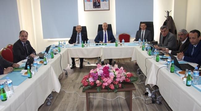 Orman Bölge Müdürlüğü ilk toplantısı Dinar'da yapıdı