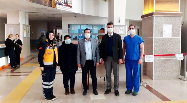 Sağlık Müdürü, Devlet Hastanesini Kontrol Etti