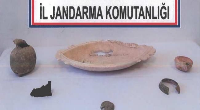 Son Dakika….Afyonkarahisar'da 6 parça tarihi eseri satmak isteyen kaçakçı yakalandı