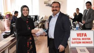 Afyonkarahisar Belediyesinden 112 çalışanlarına destek ve teşekkür ziyareti