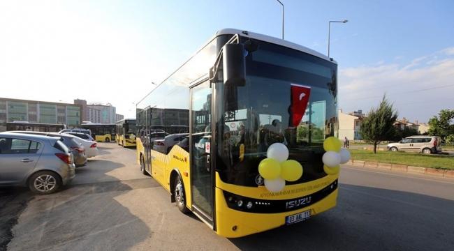Afyonkarahisar'da Belediye Otobüslerine Maskesiz Yolcu Alınmayacak