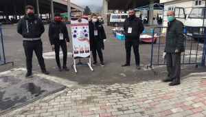 Afyonkarahisar'da semt pazarlarında önlemler alındı