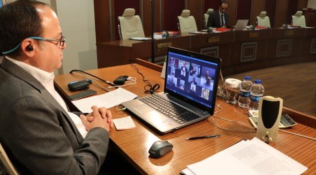 ATSO Yönetim Kurulu, İkinci Kez Video Konferans İle Toplandı