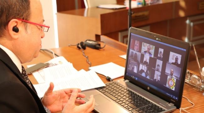 ATSO Yönetim Kurulu, Video Konferans İle Toplantı Yaptı