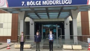 Başkan Mustafa Çöl'den TCDD Bölge Müdürlüğü'ne Ziyaret