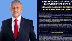 Başkan Zeybek'ten Dükkân Sahiplerine Tarihi Çağrı