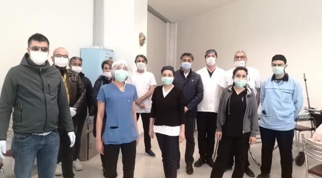 CHP İl Başkanı Görgöz : Sağlık Çalışanlarının Taleplerine Kulak Verin