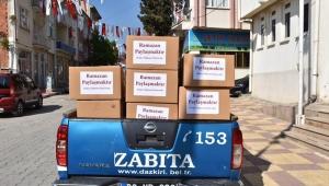 Dazkırı Belediyesi Ramazan yardımlarını ihtiyaç sahiplerine ulaştırdı