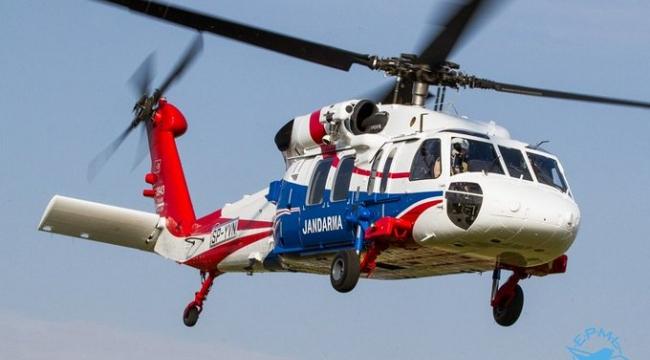 Jandarma Cuma Günü Helikopter İle Havadan Trafik Denetimi Yapacak