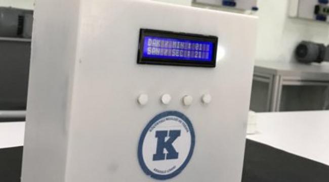 Meslek Lisesi Öğretmenleri, 'Hava Dezenfekte Cihazı' Ve 'Temassız Termometre' Üretti