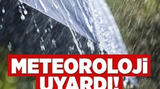 Meteoroloji Kuvvetli Yağış ve Fırtına Uyarısında Bulundu