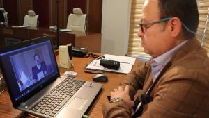 Serteser, Hisarcıklıoğlu'nun Düzenlediği Video Konferansa Katıldı