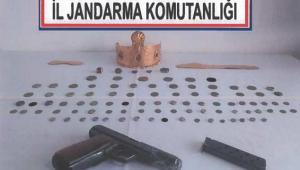 Son Dakika………Afyonkarahisar'da 97 parça tarihi eser ele geçirildi