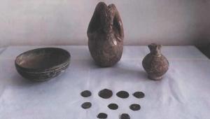 Son Dakika……..Afyonkarahisar'da tarihi eser satmak isterken yakalandı