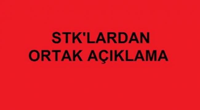 STK'lardan Ortak Açıklama